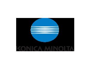 konica minolta logo colour
